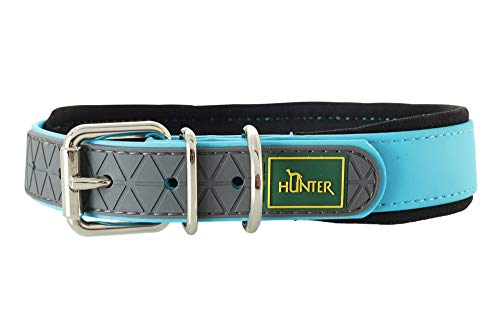 Hunter - Commodité confort collier 42-50 cm turquoise