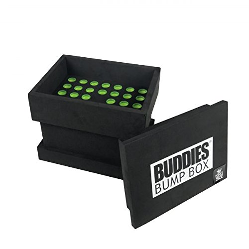 Buddies Bump Box Cone Filling Machine for 109mm Pre-Rolled Cones by 420 Stock