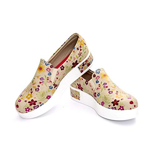 Slip Shoes Flowers On Vn4214 Sneakers gtwdqH