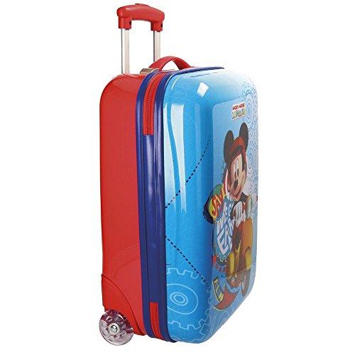 Disney Mickey Vespa Kindergepäck, 50 cm, 26 liters, Mehrfarbig (Multicolor)