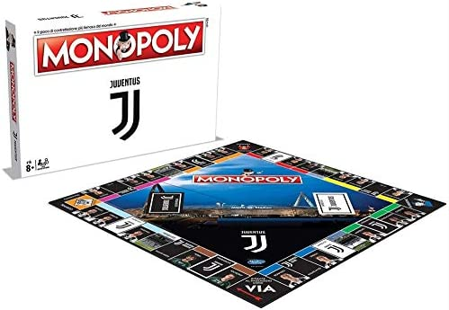 Winning Moves Monopoly Juventus - Juego de Mesa clásico para Todo el Mundo: Amazon.es: Juguetes y juegos