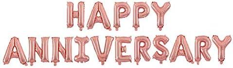 記念日デコレーション 飾りつけ 風船 結婚記念日 パーティー お祝い ゴールド バルーン 風船 Xchumot
