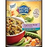 Natures Recipe Cuts in Gravy Healthy Skin Vegetarian Canned Dog Food
