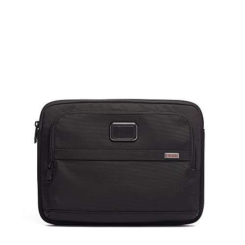Tumi Unisex Alpha 3 Medium Laptop Cover Black One Size