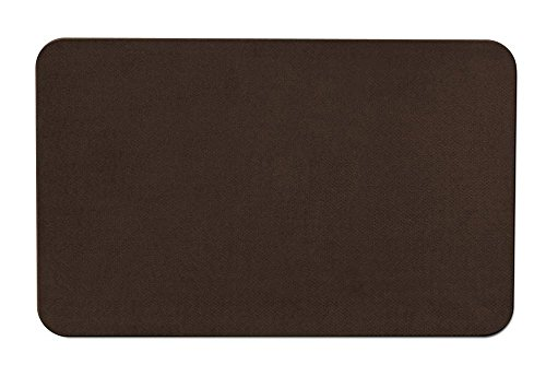 Skid-resistant Carpet Indoor Area Rug Floor Mat - Chocolate Brown - 2' X 3' - Many Other Sizes to Choose From