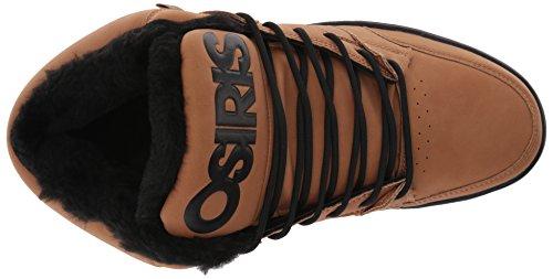 Osiris Mens Convoy Mid Shr Skateboard Scarpa Marrone / Lavoro