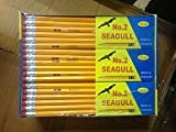 Pencils Pre-sharpened No. 2 144/box 10 Boxes of 144 New Improved Eraser