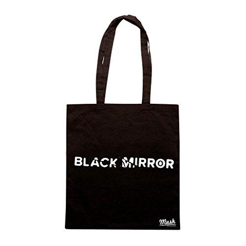 Borsa BLACK MIRROR LOGO - Nera - FILM by Mush Dress Your Style