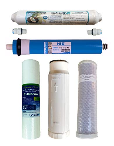 h RO Membrane, 75 GPD Membrane, for 5 Stage System ()