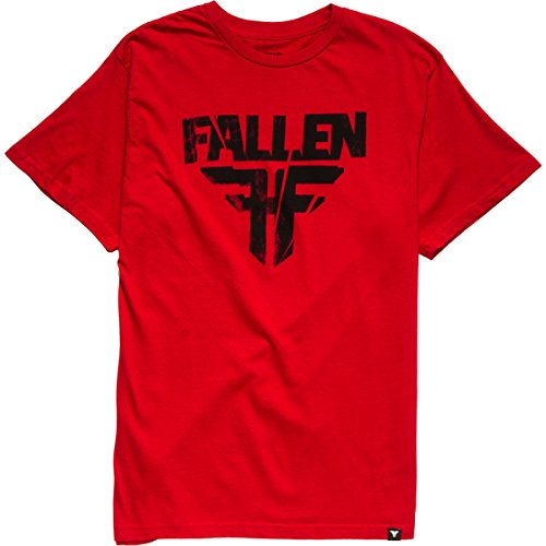 FALLEN - Fracture T-Shirt Short Sleeve- blood red - M