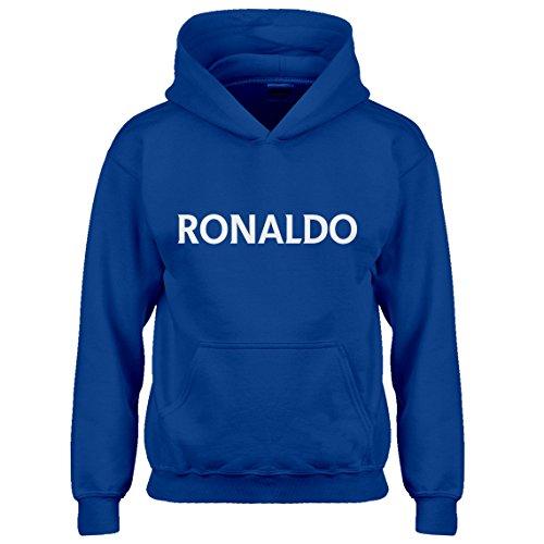 Indica Plateau Kids Hoodie Ronaldo Medium Royal Blue Hoodie (Cristiano Ronaldo Best Moves)
