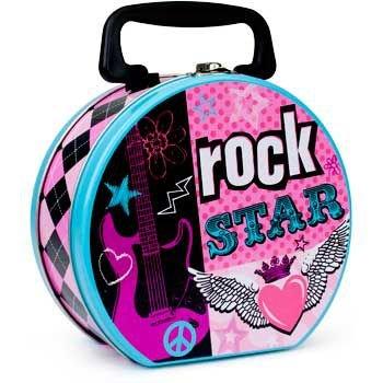 Amscan Rock Star Girl Lunch Box (Each) -