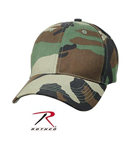 Rothco Kids Low Profile Cap - Woodland Camo