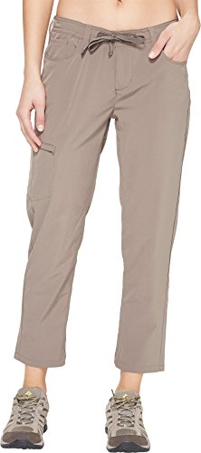 Toad&Co Women's Jetlite Crop Pants Falcon Brown 2 26 (Crop Zip Pant)