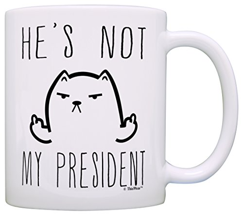 President Middle Finger Expletive Coffee product image