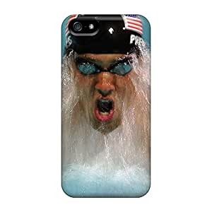 Awesome CQkzjzK1544tRbVf Frankqsmigh Defender Tpu Hard Case Cover For Iphone 5/5s- Michael Phelps