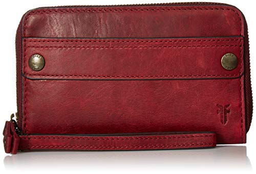 FRYE Melissa Zip Large Phone Wallet, Sangria