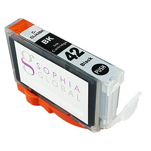 Sophia Global Compatible Ink Cartridge Replacement for CLI-42 (1 Black)