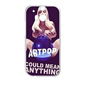 Clzpg Customized HTC One M8 Case - Lady Gaga shell phone case