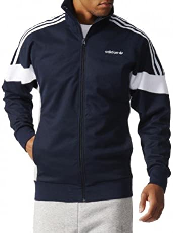 adidas Veste CLR84 Marine Homme: : Vêtements et