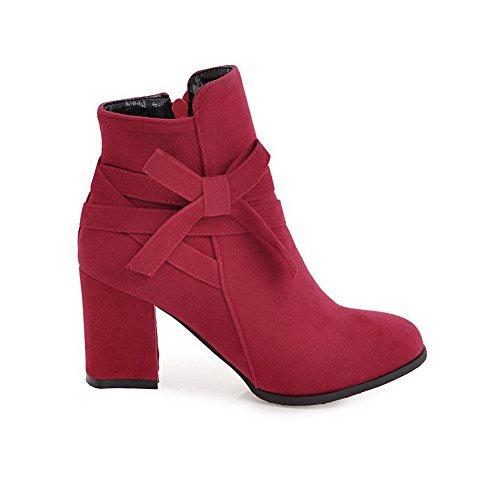 BalaMasa Abl10665, Sandales Compensées Femme - Rouge - Red, 36.5