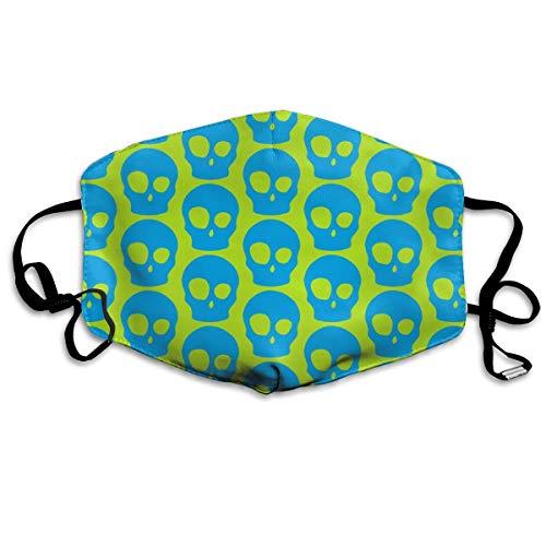 Vibrant Skulls Mask Mouth Mask Neck Gaiter Mask
