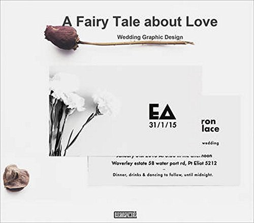 A Fairy Tale about Love: Wedding Graphic Design by Xia Jiajia, Yang Ruizhu