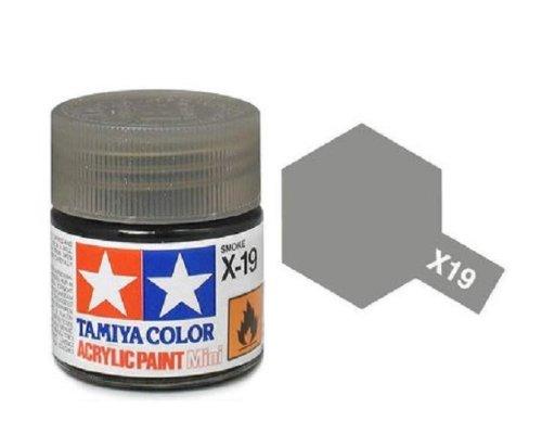 Amazon Tamiya Models X 19 Mini Acrylic Paint Smoke Toys Games