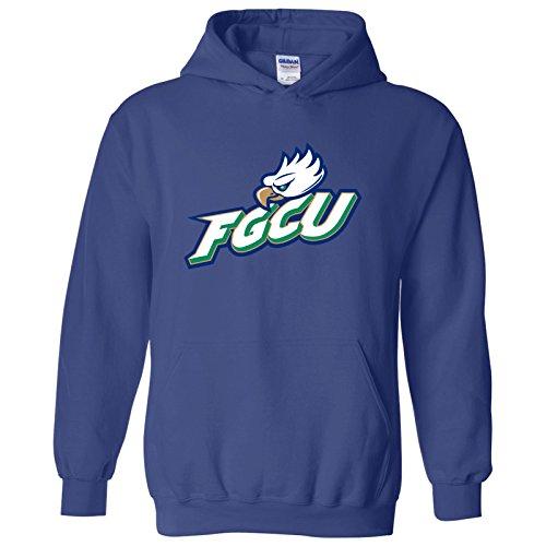 AH02 - FGCU Eagles Primary Logo Hoodie - Medium - Royal