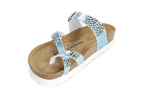 Slippers JOYCE Softbedded N Leociel Women JOE Sandals Cork Milano fz6YFqw