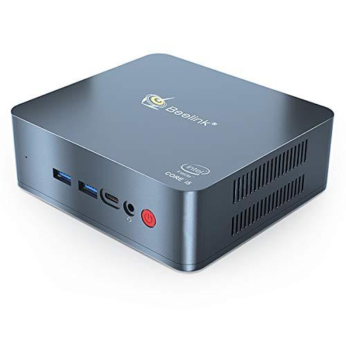 Beelink U57 Mini PC Windows 10 Intel Core i5-5257U (up to 3.1 GHz) 8GB RAM 128GB SSD Mini Desktop Computer 4K Dual HDMI…