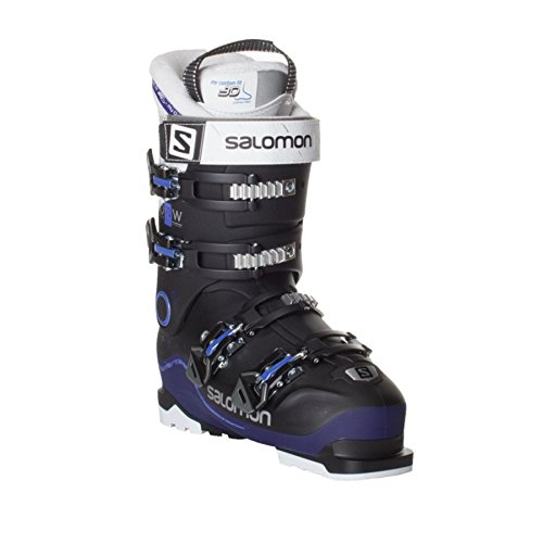 - Salomon X-Pro 70 W Womens Ski Boots 2018 - 22.0/Black-Dark Purple-White