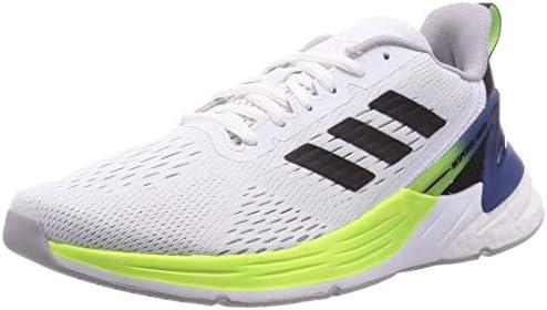 Adidas RESPONSE SR 5.0 BOOST Mens Running Shoe, White/Yellow/Blue ...