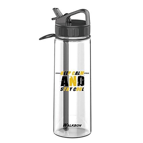 Emopeak Sports Water Bottle, 900ML Insulated Bottle for Outdoor Sport Hydration, FDA Approved BPA-Free Mist Water Bottle