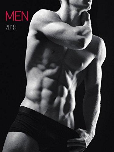 Men 2018 - Männer - Bildkalender (42 x 56) - schwarz/weiß - Erotikkalender