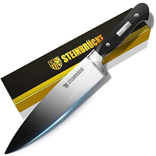 STEINBRÜCKE Chef Knife 8 inch, Hand Polished Now $12.99 (Was $35.99)