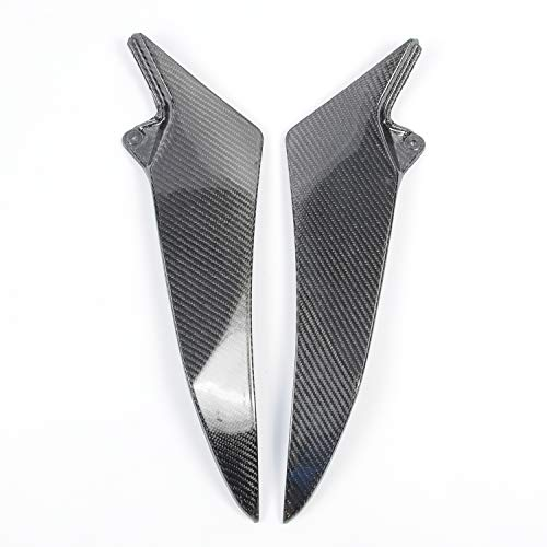 Fairing Fiber Motorcycle Carbon - Wotefusi Motorcycle New 2 Pieces Pair Left & Right Carbon Fiber Tank Side Cover Panel Part Fairing Bodywork For Yamaha R1 2009-2014 2010 2011 2012 2013
