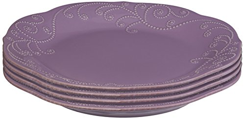 Lenox 843827 FRENCH PERLE VIOLET DW DINNER PLATE - Pack of 4  sc 1 st  Kitchen Products : world tableware international - pezcame.com