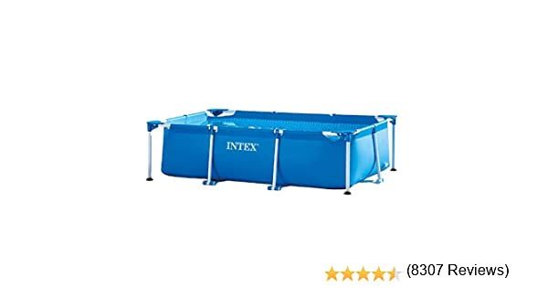 Intex 28271NP Small Frame - Piscina desmontable, 260 x 160 x 65 cm ...