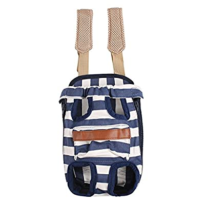 COODIA Legs Out Front Pet Dog Carrier Front Chest Backpack Pet Cat Puppy Tote Holder Bag Sling Outdoor