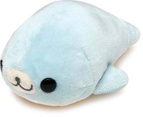 San-x Mamegoma 5'' Plush Blue