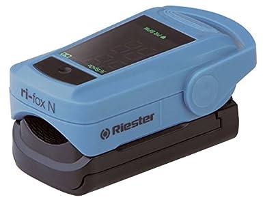 Riester 1905 ri-fox N, pulsioxímetro de dedo: Amazon.es: Industria, empresas y ciencia