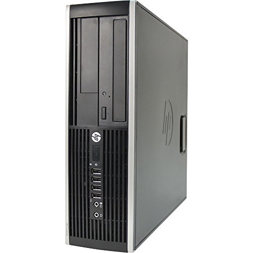 HP Compaq Prodesk 6200 Pro Slim Business Desktop Computer Small Form Factor (SFF), Intel i5-2400 up to 3.4GHz, 8GB DDR3, 1TB HDD + 128GB SSD, DVD, Windows 10 Pro 64 Bit (Renewed)