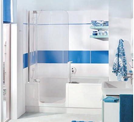 Artweger Twin Line 2 bañera 180 x 80 Perfil Plata Mate: Amazon.es ...