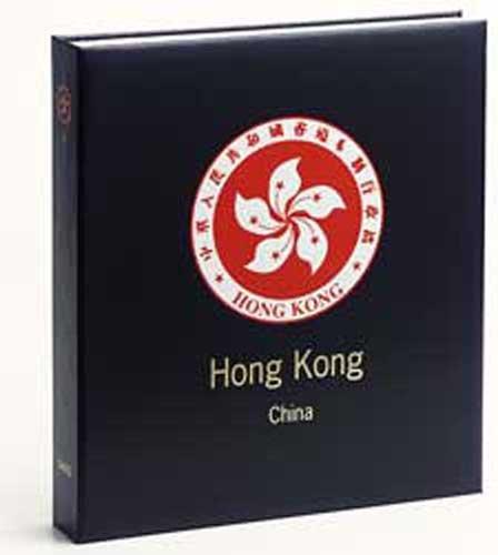 DAVO 2532 Luxe stamp album Hong Kong II (China) 2005-2011
