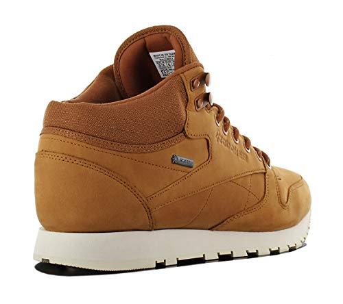 Classic Braun Leather Herren Sneakers Gore Reebok Mid Tex Winterschuh aZExnxB
