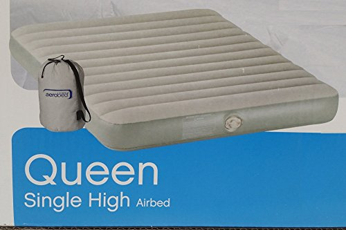 Aerobed Queen Single High Air Bed With Built in ()