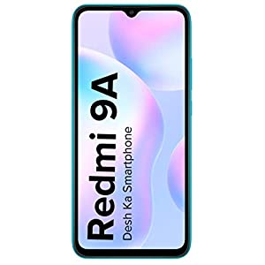 Redmi 9A (Midnight Black 2GB RAM 32GB Storage) | 2GHz Octa-core Helio G25 Processor | 5000 mAh Battery