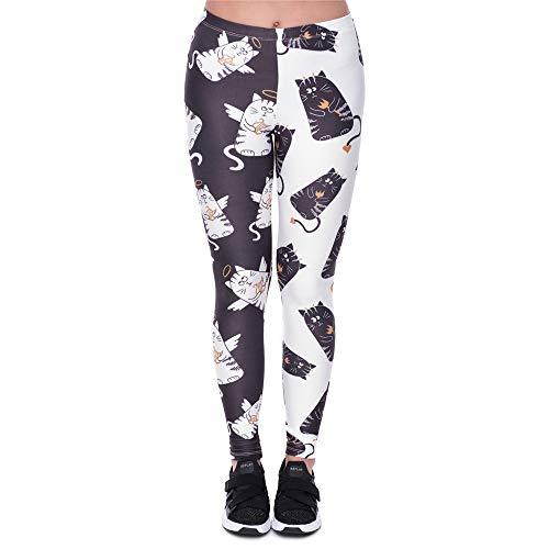 Pantalons Stretch Haute Yoga En Femmes Pour 4 3d Imprimés Leggins CpwCZ47nq
