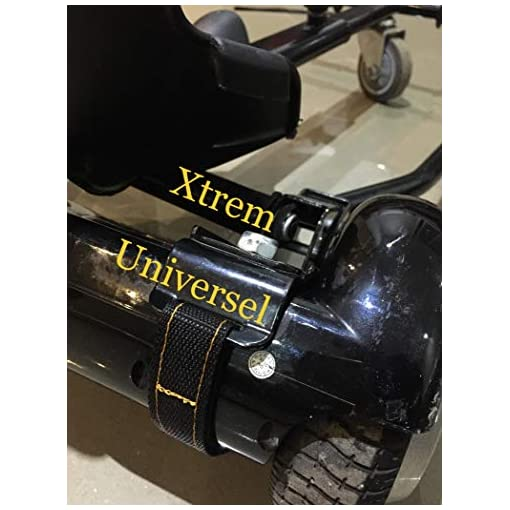 Xtrem 4 Sangles Hoverkart Universel pour Fixation Hover Go Kart Overkart Cart Hoverkart Hovercart Over Scratch Attache Hoverboard